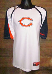Men's performance short sleeve shirt Chicago Bears White NFL