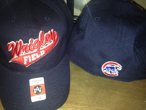 Navy Wrigley Field hat
