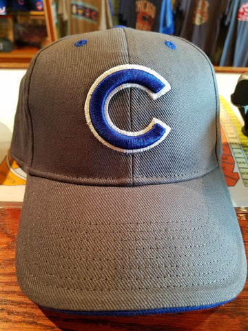 Gray Chicago Cubs Cap