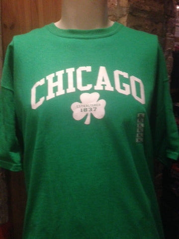 Green Clover Chicago T shirt
