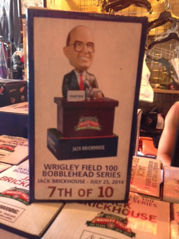 Chicago Cubs Jack Brickhouse 1970s Bobblehead