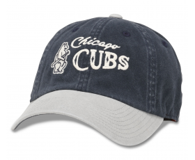 Chicago Cubs Vintage Logo Gray Bill