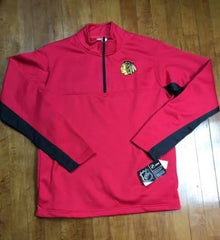 Chicago BlackHawks 1/4 Zip SweatShirt