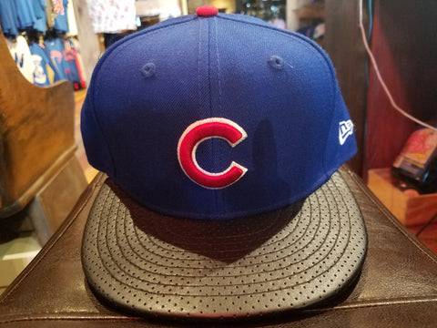 Chicago Cubs Blue New Era Flat Bill