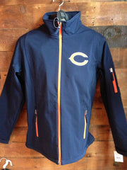 Men's Chicago Bears Track Jacket Navy