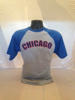 Unisex Chicago Raglan baseball T