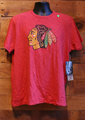 Men's T-Shirt Chicago Blackhawks Red with Logo