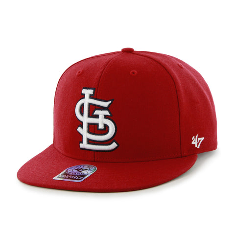 Hat STLouis Cards FlatSnap Red B47