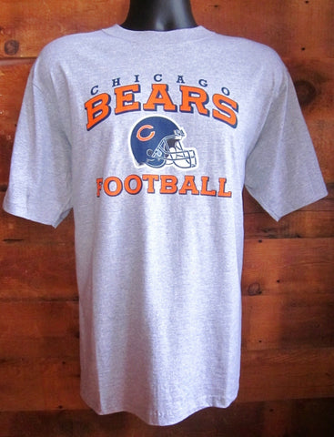 Men's T-Shirt Chicago Bears Football Grey Reebok