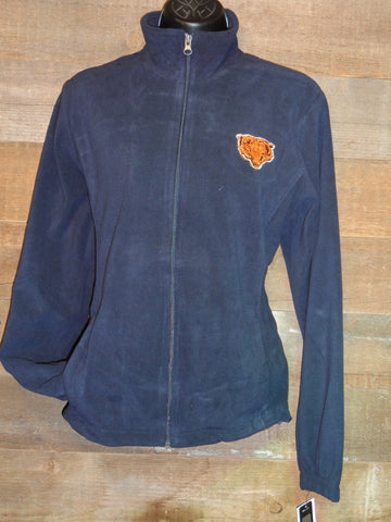 Women's Fleece Chicago Bears zipper sweatshirt