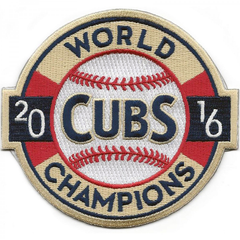 Chicago Cubs 2016 World Champions Iron On Patch