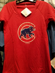 Chicago Cubs Red Crawl Logo
