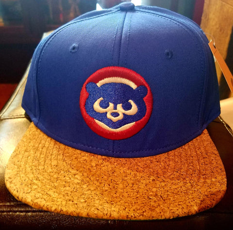 Chicago Cubs Cubbie Bear Cork Brim Flat Bill
