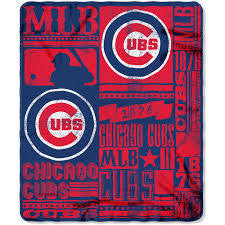 Strength Fleece Throw Cubs
