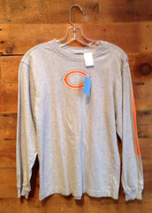 Youth Long Sleeve T-Shirt Chicago Bears Grey