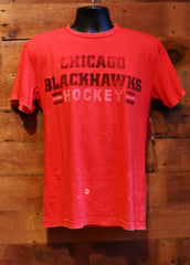 Men's T-Shirt Chicago Blackhawks Hockey Red