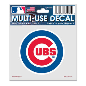 Multi-Use Cubs Decal