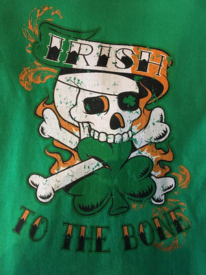 Irish To The Bone Black