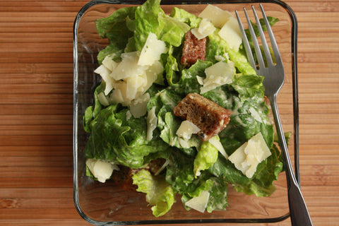 Caesar Salad with Gluten-Free Croutons