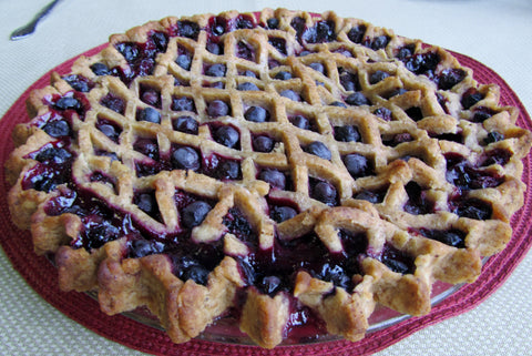 Gluten Free Blueberry Pie -- Breads From Anna
