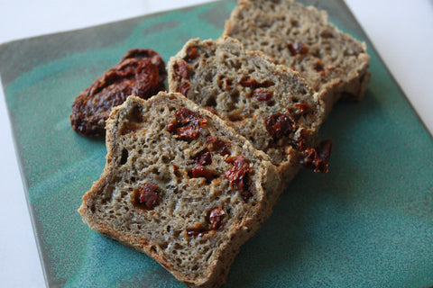 Gluten-Free Sun Dried Tomato Pesto Bread
