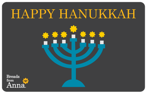 Happy Hanukkah Gift Card