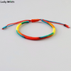 """Rainbow"" - Hand Crafted Lucky Knot Bracelet"