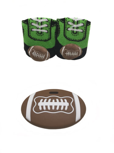Football 🏈 teether gift set