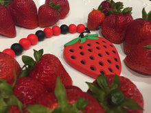 Load image into Gallery viewer, Strawberry 🍓 teether gift set