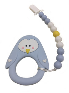 Cheeky Penguin teether