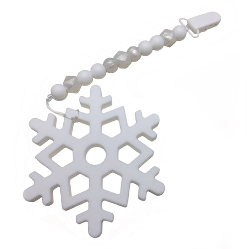 Large Snowflake teether