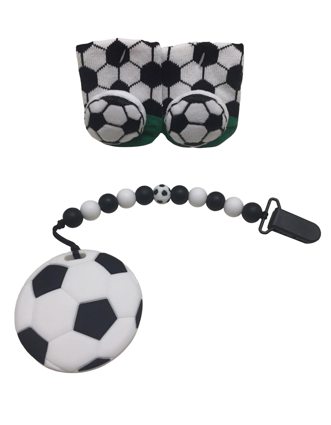 Soccer ⚽️ teether gift set