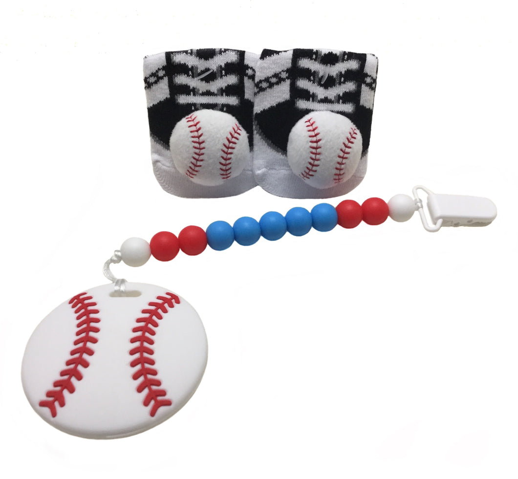 Baseball ⚾️ teether gift set