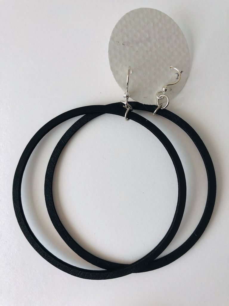 "2.5"" laser cut birch hoops - assorted colors"