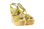 Etico Kweder Sandali Gemma Limited Edition - Yasmin Collection - Veenofs IT