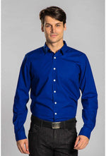 Slogan Alder Shirt - Dark Blue - Veenofs