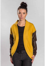 Slogan Women's Chelsea Cardigan - Honey - Veenofs
