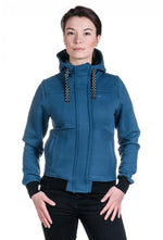 Slogan Women's Impulse Jacket - Sea - Veenofs