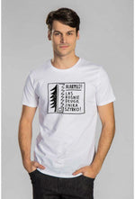 Slogan Camp For Dust T-Shirt - White - Veenofs
