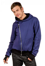 Slogan The Bassman Hoodie - Dark Blue - Veenofs