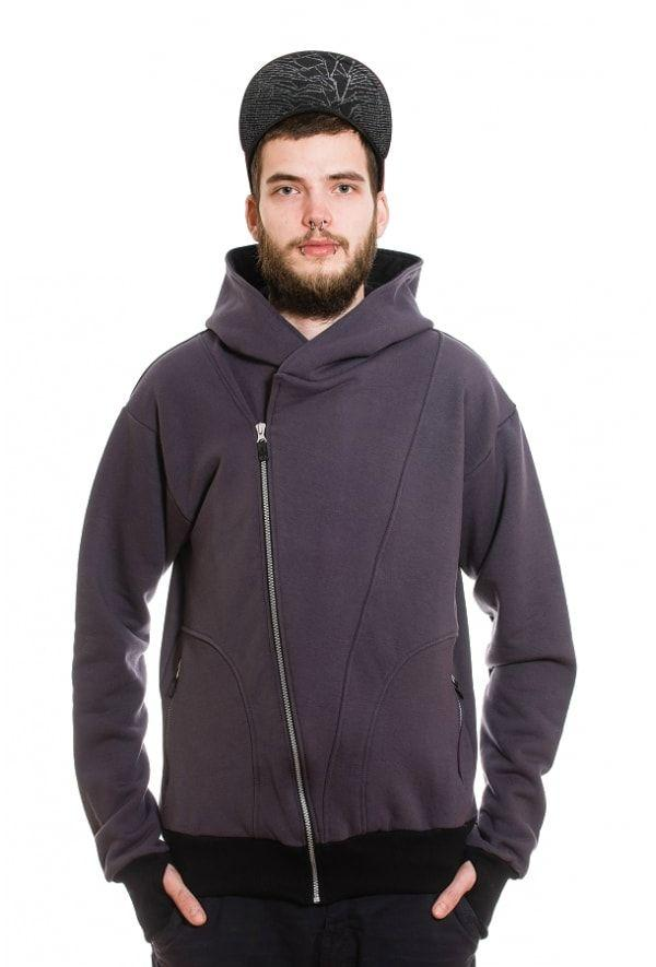 Slogan The Bassman Hoodie - Dark Grey - Veenofs