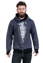Slogan The Eye Hoodie By OTECKI - Grey - Veenofs