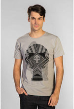 Slogan The Skull T-Shirt - Grey - Veenofs