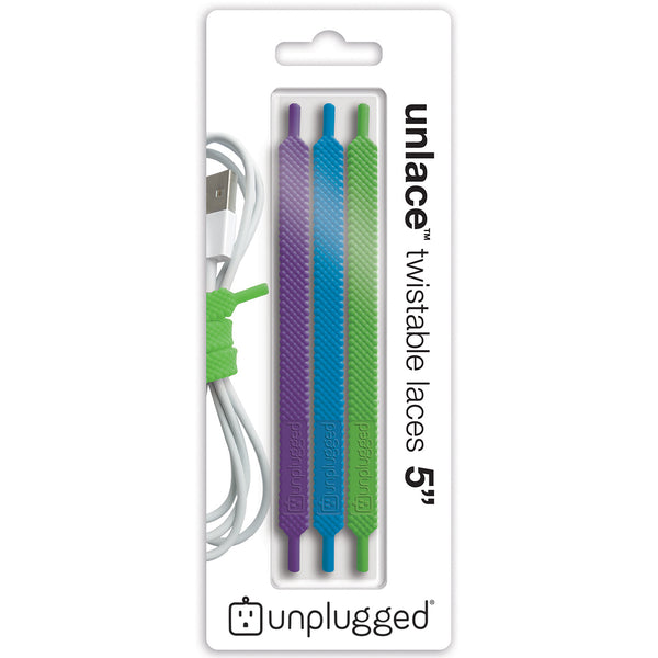 UNLACE 5 inch<br>Twistable Laces (3-pack / Botanic)