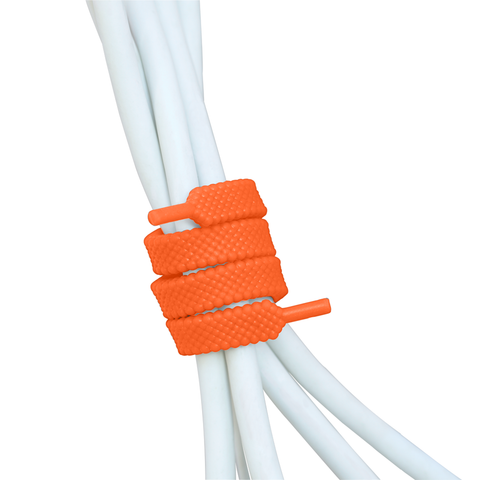 UNLACE 10 inch<br>twistable laces (4-pack / citrus)