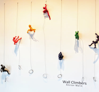 Wall Climbers by Ancizar Marin