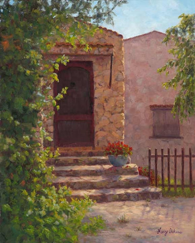 Mi Casa - oils Paintings by artist Lucy Dickens