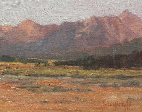 High Country Morning - Oil Paintings by artist John Horejs