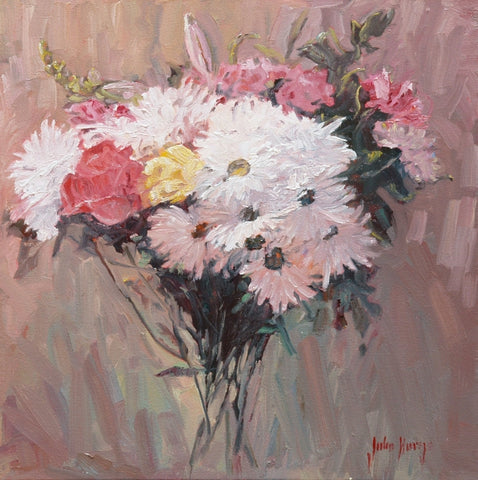 Summer Bouquet - Oil Paintings by artist John Horejs