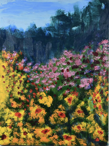 Mountain Flowers -  Paintings by artist Donald Ryker-Artist